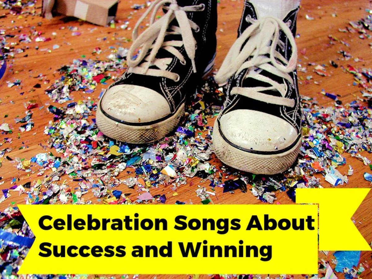 Yes, you're a winner!  Now, celebrate your amazing success with a victory playlist.  We've got a long list of pop, rock, and country songs to get you started.