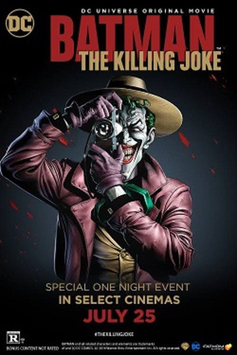 Batman: The Killing Joke Film Review