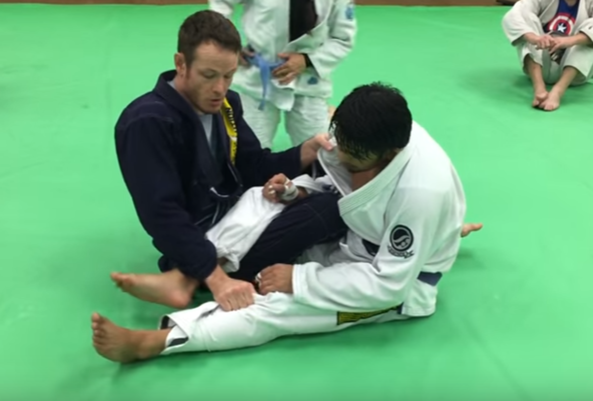How to Pass 50/50 Guard for BJJ (and Take the Back)