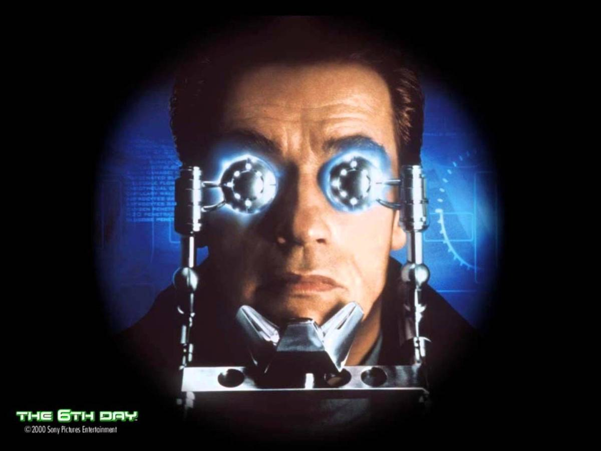 """Schwarzenegger x 2 : """"The 6th Day"""" (2000) Movie Review"""