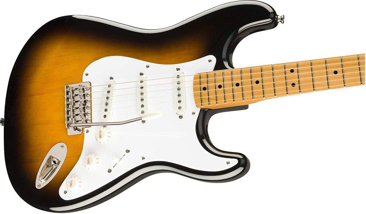 The Squier Classic Vibe '50s Strat is a great electric guitar for under $400.