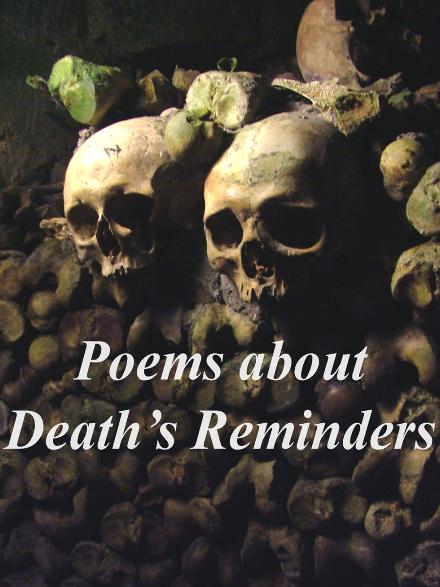Death's reminders can be found in our everyday lives.