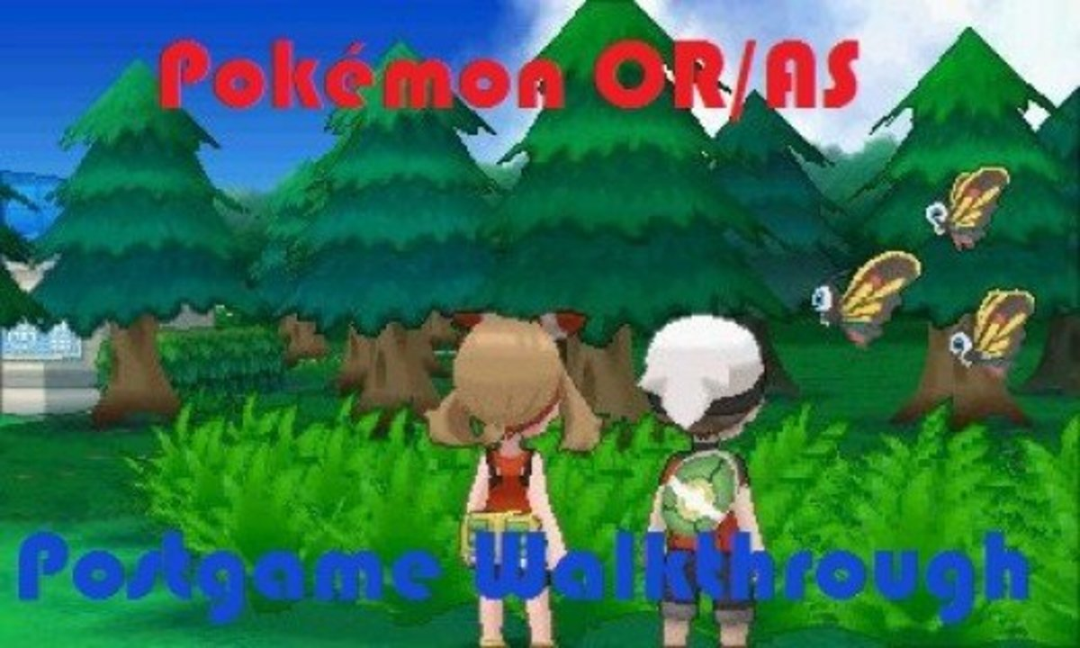 Pokemon Omega Ruby and Alpha Sapphire: Postgame Walkthrough