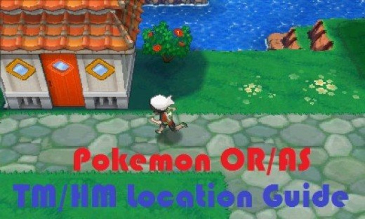 Pokemon Omega Ruby and Alpha Sapphire TM & HM Location Guide