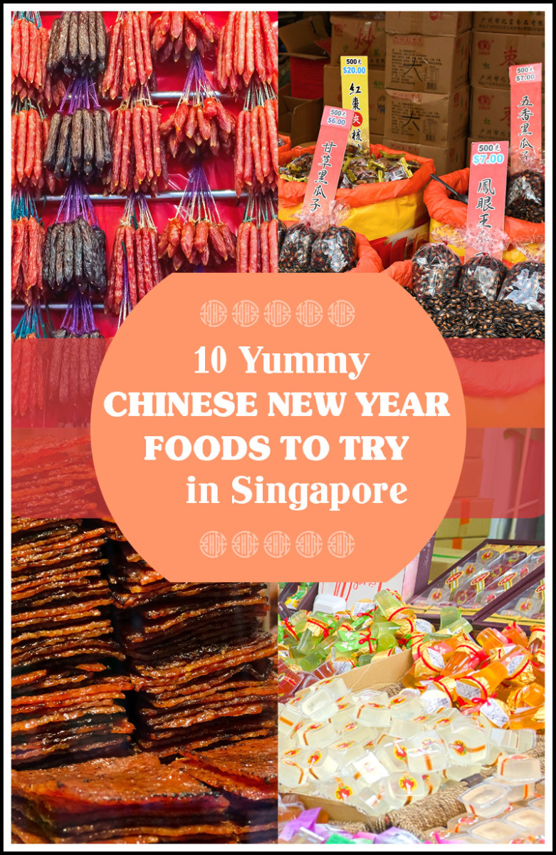 Delicious Chinese New Year foods to try in Singapore.
