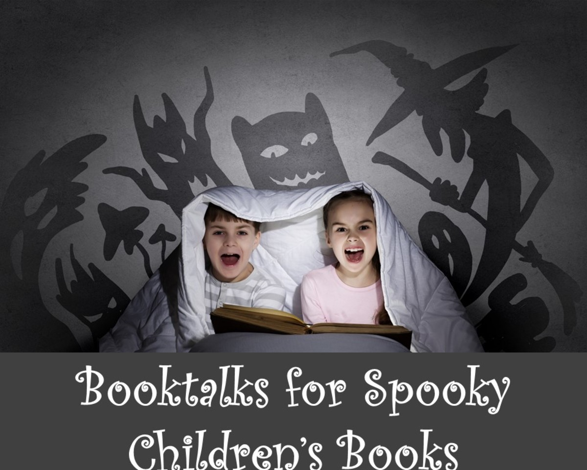 Booktalks for Spooky and Scary Children's Books: Audience Participation Book Talks for Kids Grades 3-6