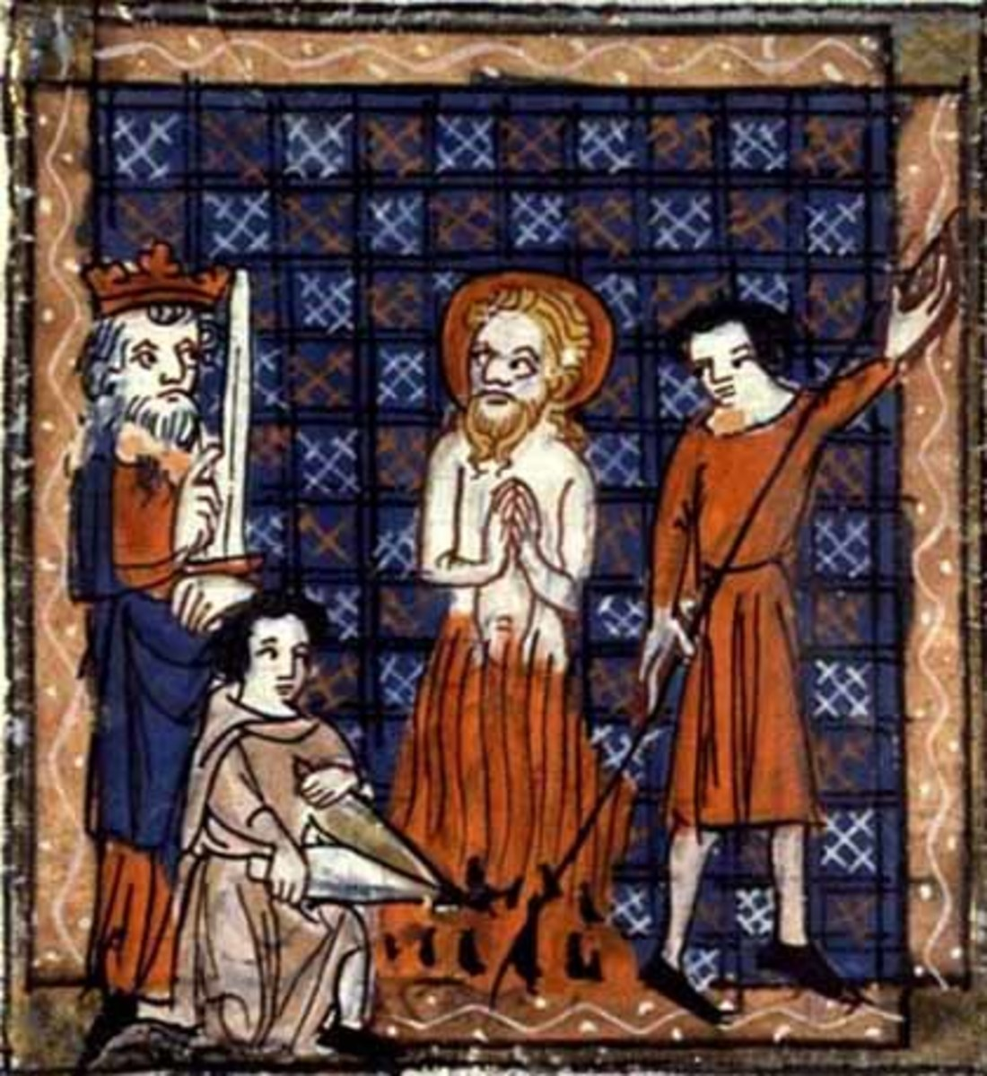 The Martyrdom of Saint Barnabas.