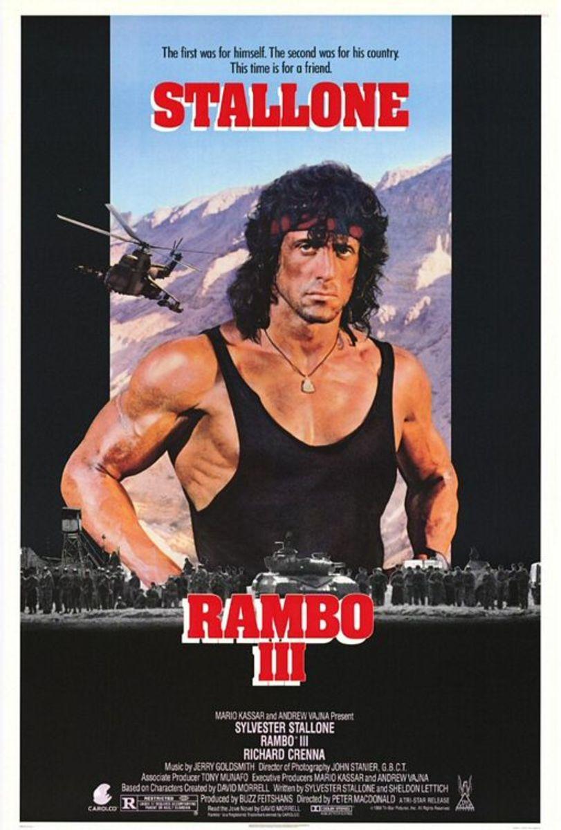 """Poster for """"Rambo III"""""""