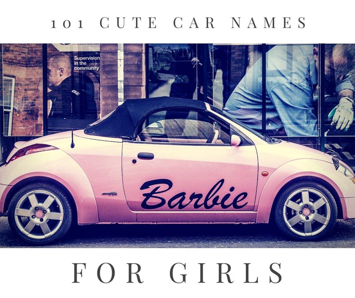 101 Cute Car Names for Girls