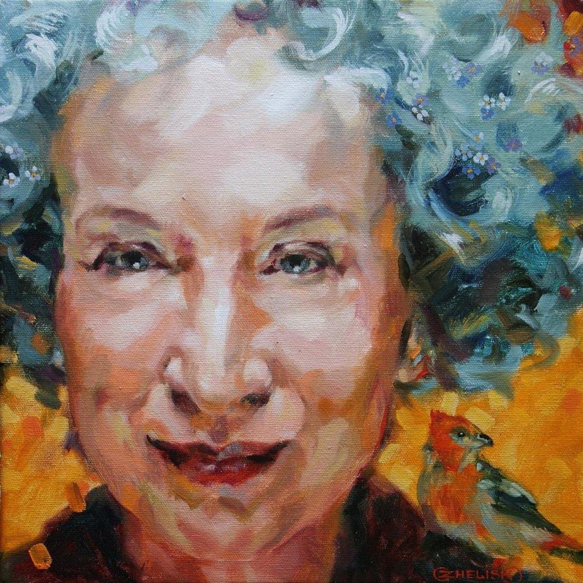 "Margaret Atwood's ""Backdrop Addresses Cowboy"""