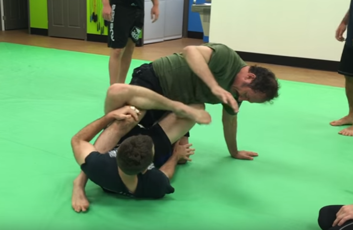 Leg Locks from Mount (Bottom!): a BJJ Tutorial