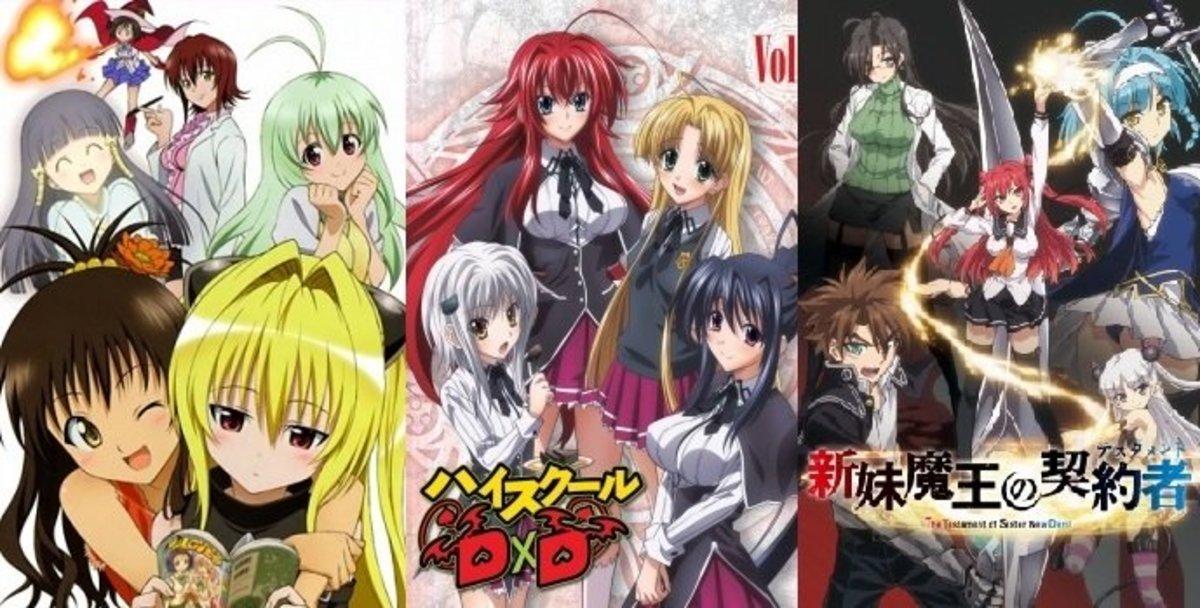 Top 10 Best Ecchi Anime