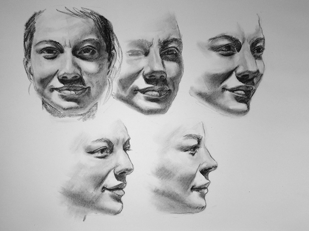 Drawing The Human Face Tips For Beginner Artists Feltmagnet Crafts