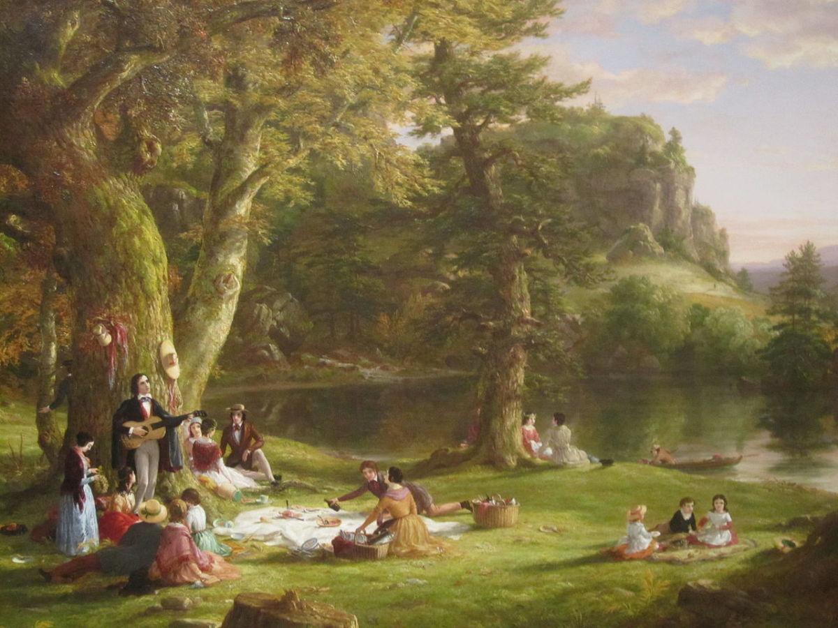 """""""The Picnic"""", Thomas Cole"""