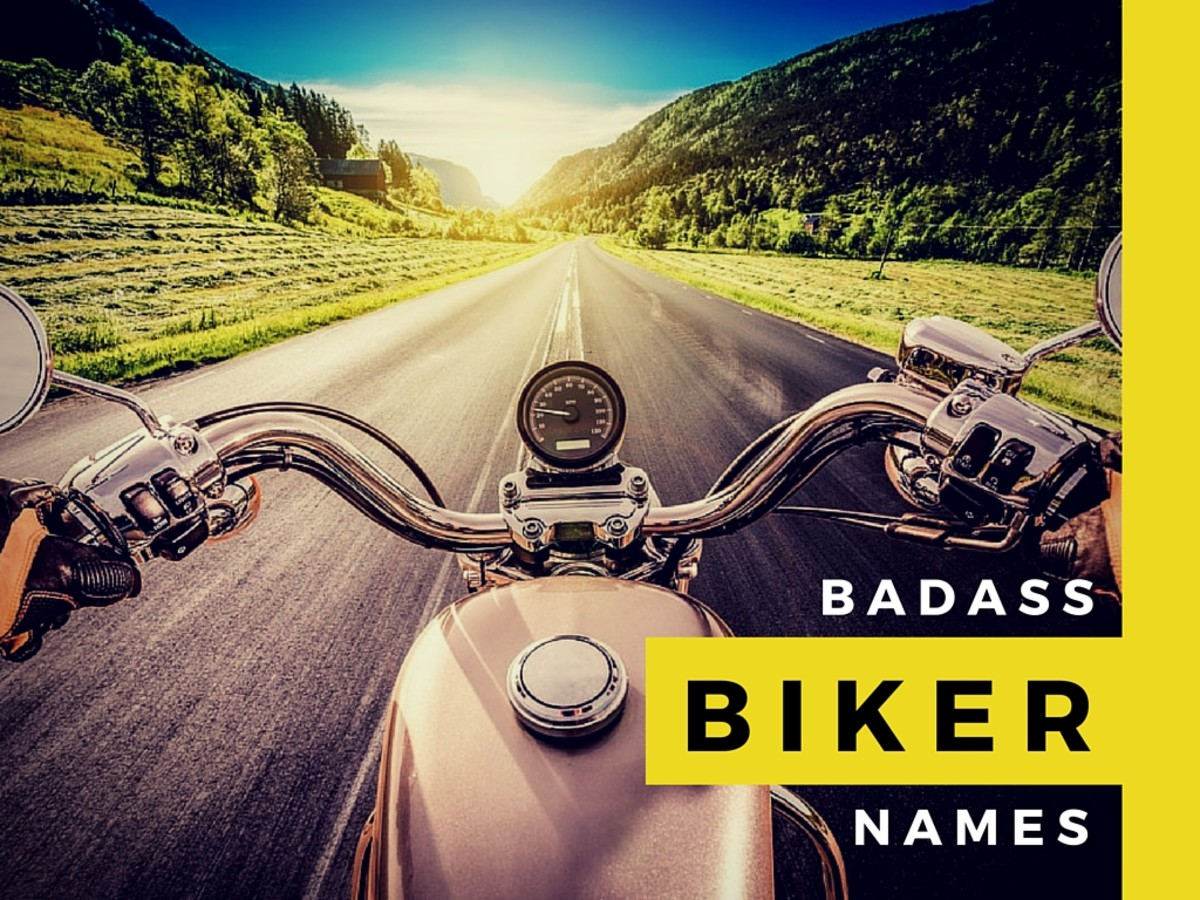 Biker nicknames for women