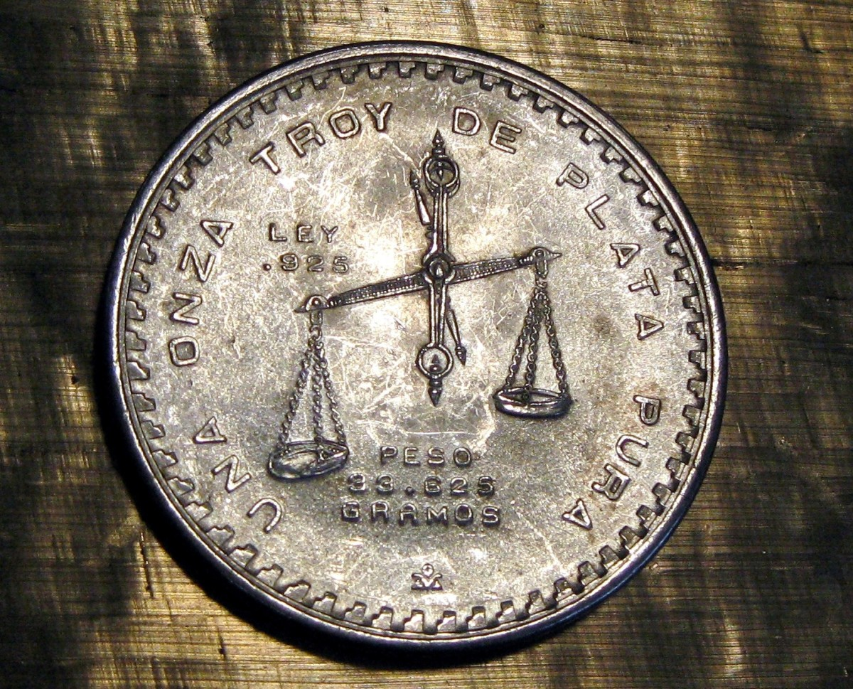 "Old coin made of ""925"" silver"