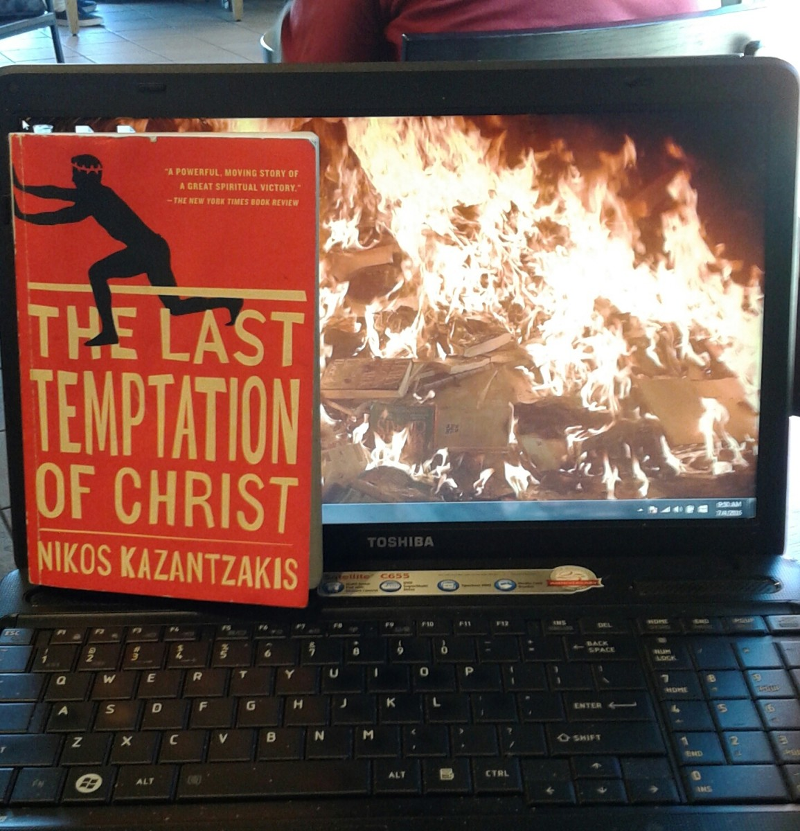 The Last Temptation of Christ - Lunchtime Lit with Mel