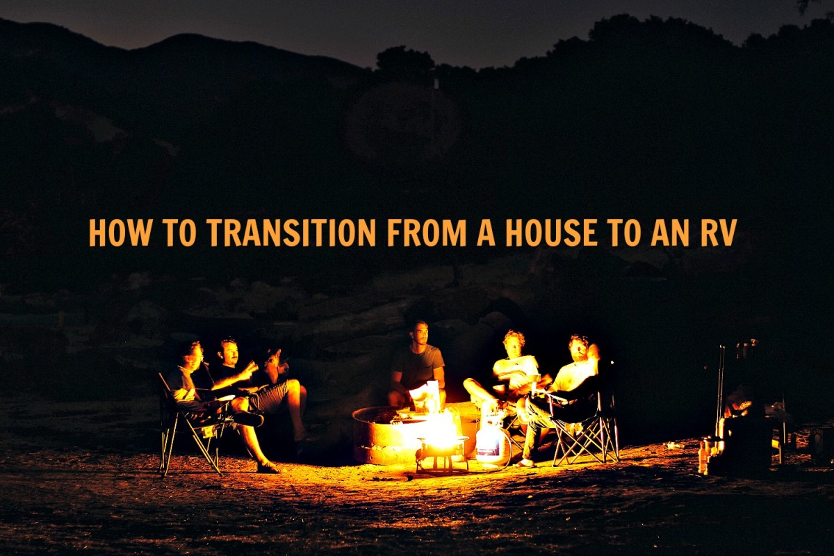 Transitioning from a house to an RV can bring many benefits.