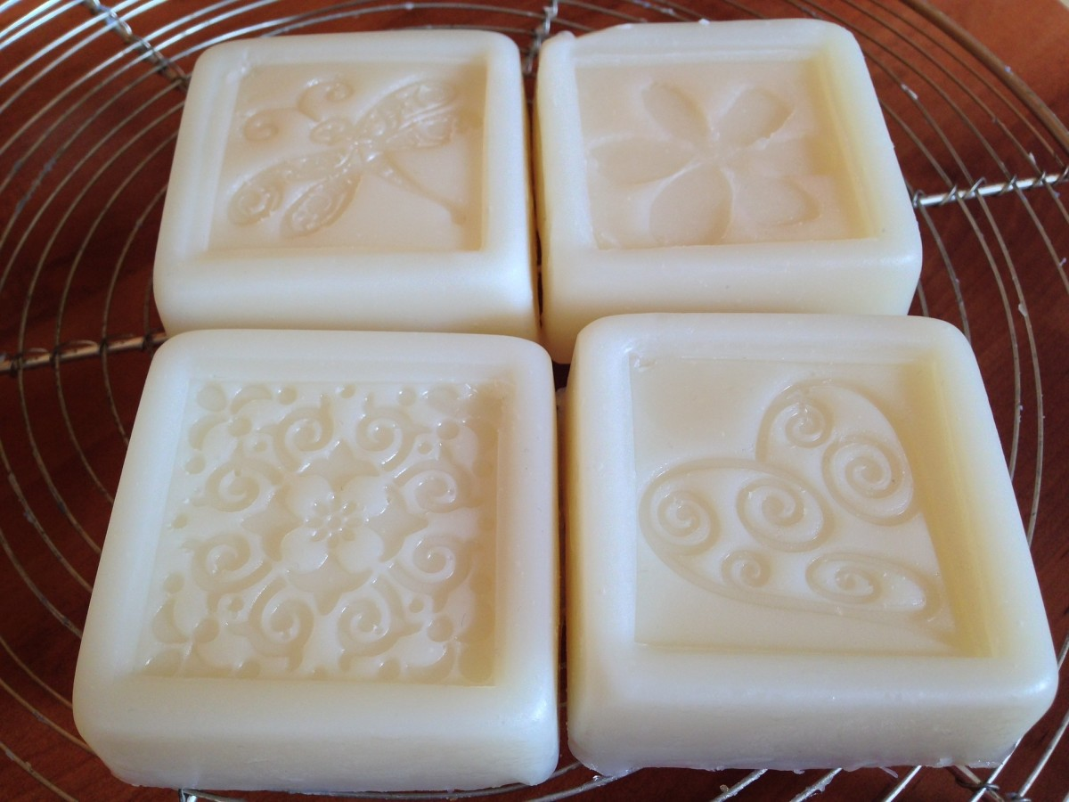 ... soap (up to about 25% of your total recipe). This butter is also  wonderful for helping in the healing process of stretch marks and for  clearing up acne.