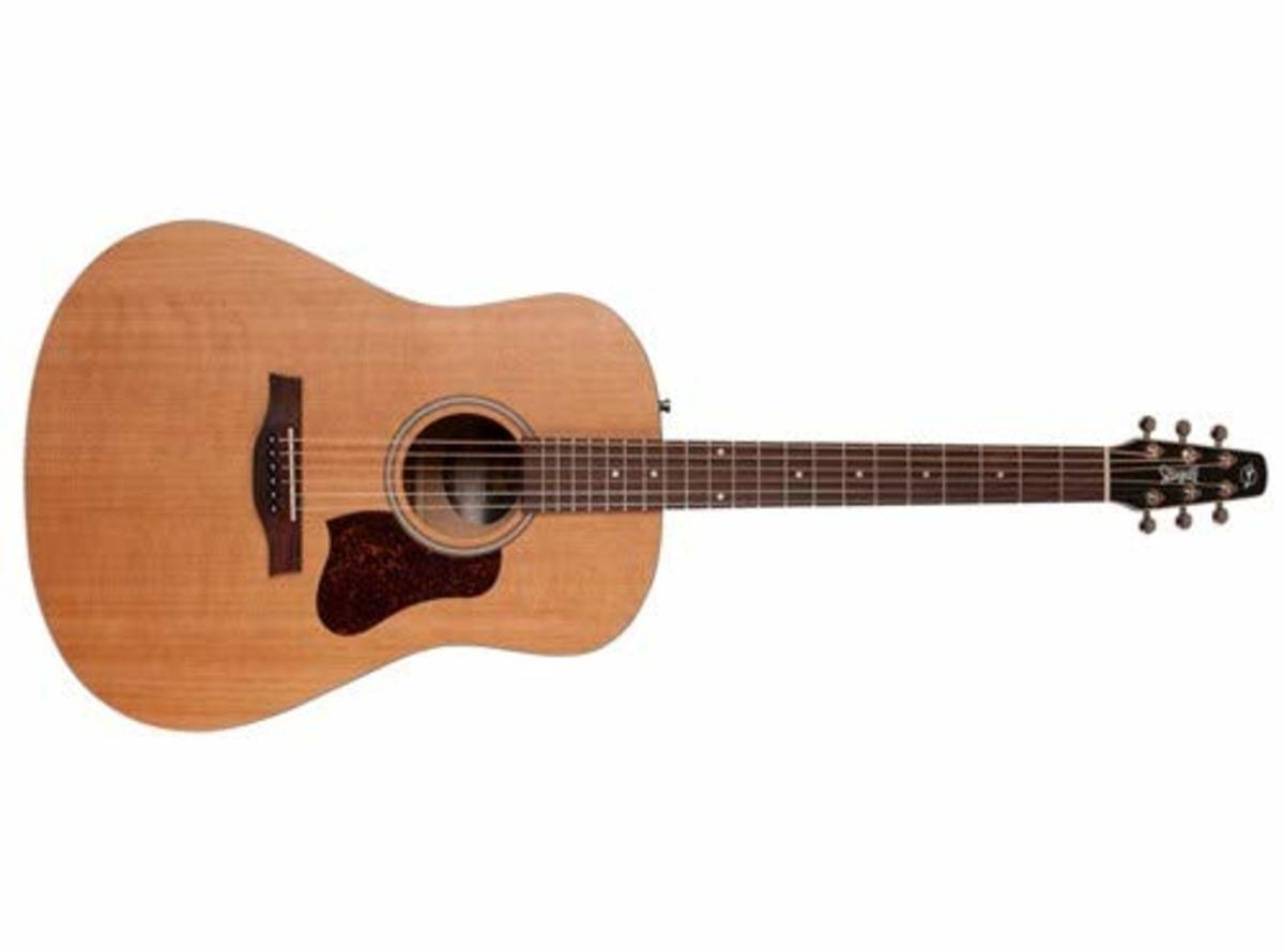 The Seagull S6 Original is one of the best acoustic guitars for players on a budget.