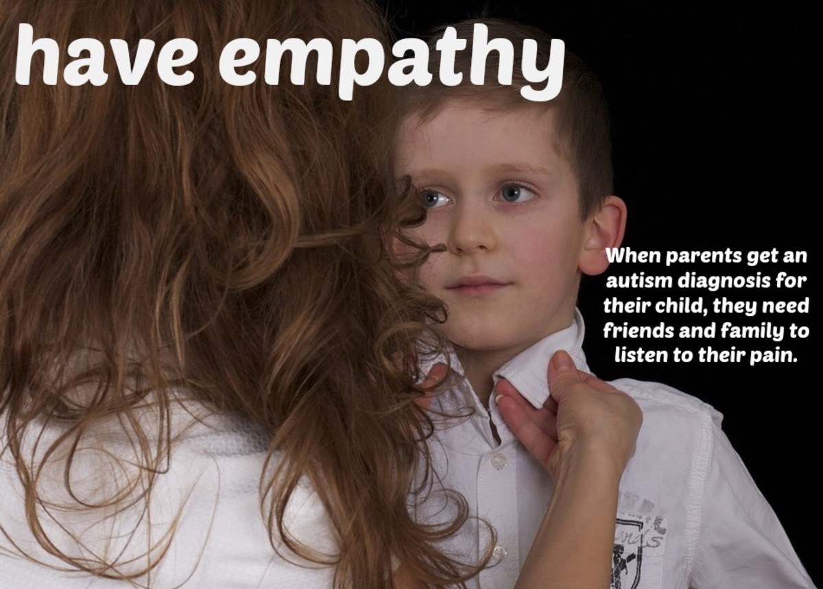 By simply acknowledging they're going through a tough time, you show compassion to parents of an autistic child.