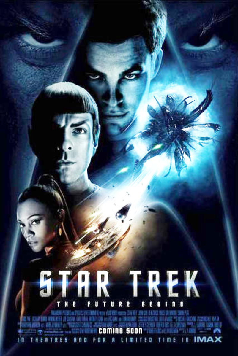 "Promotional poster for ""Star Trek"""