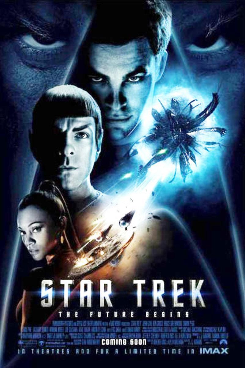 """Promotional poster for """"Star Trek"""""""