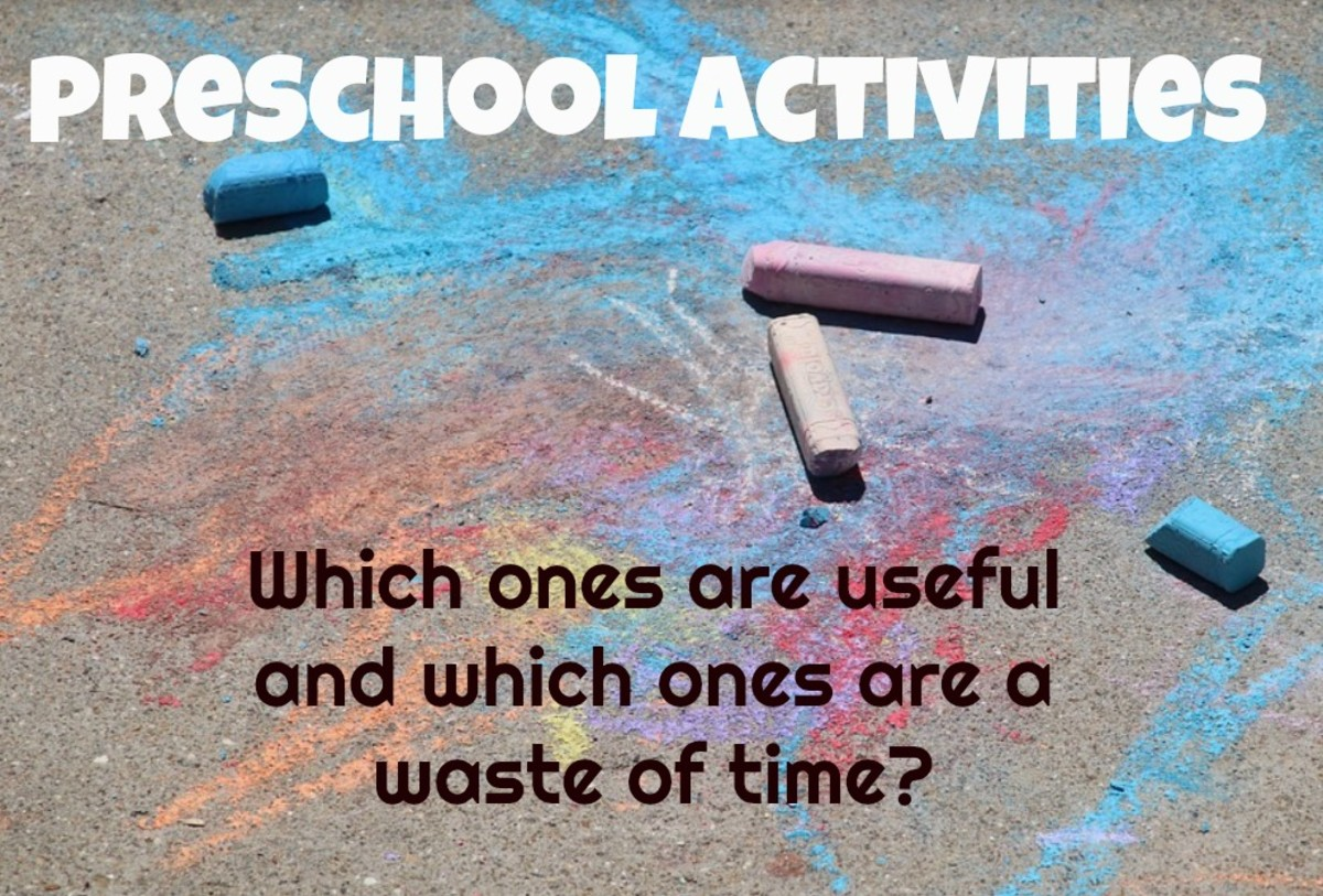 5 Common Preschool Activities That Are a Waste of Time and Detrimental to Kids
