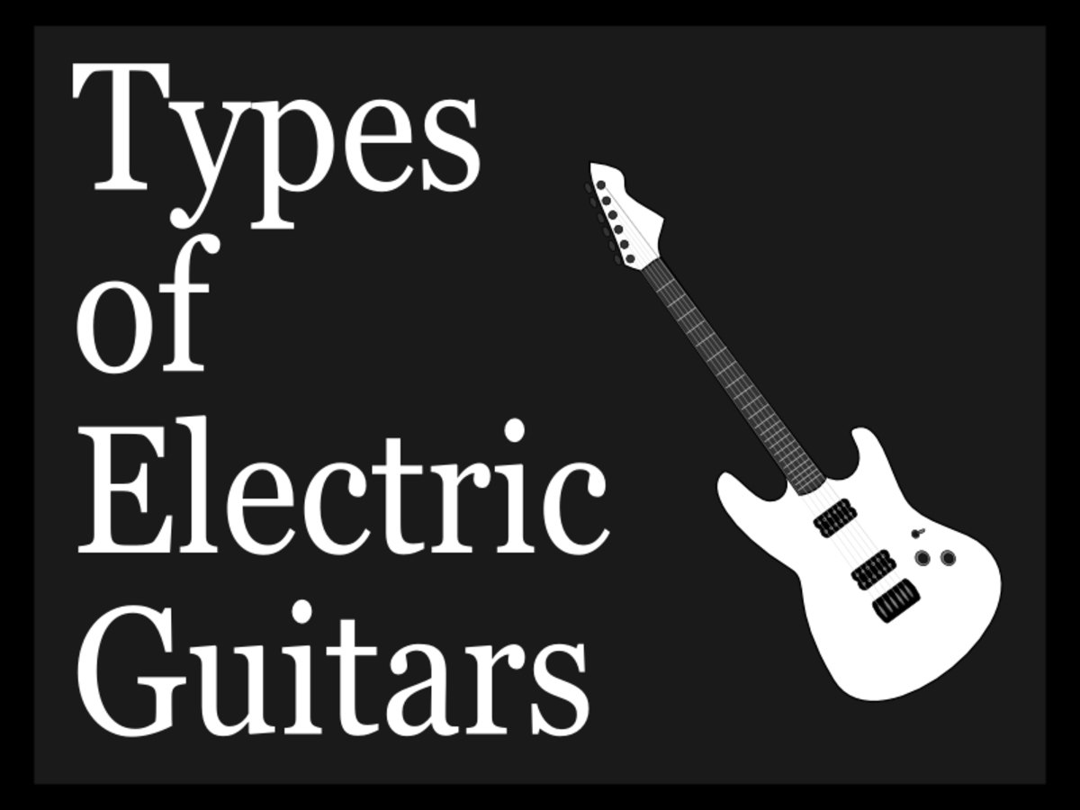 The type of guitar you play has a big impact on your sound!