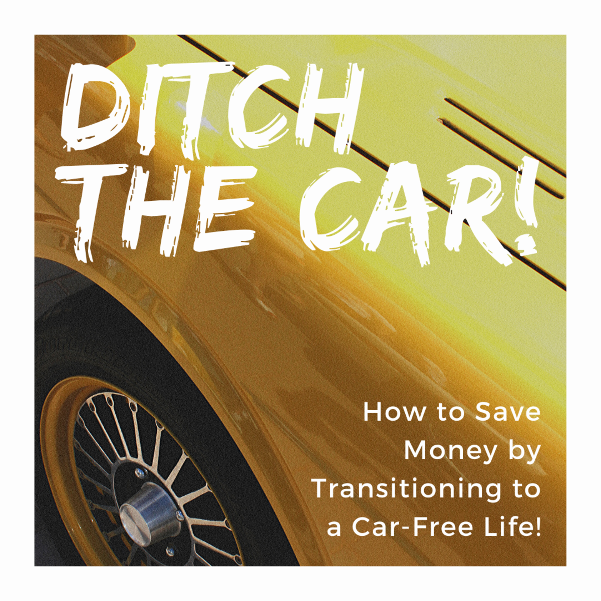 Going car-free helps the environment and your savings.