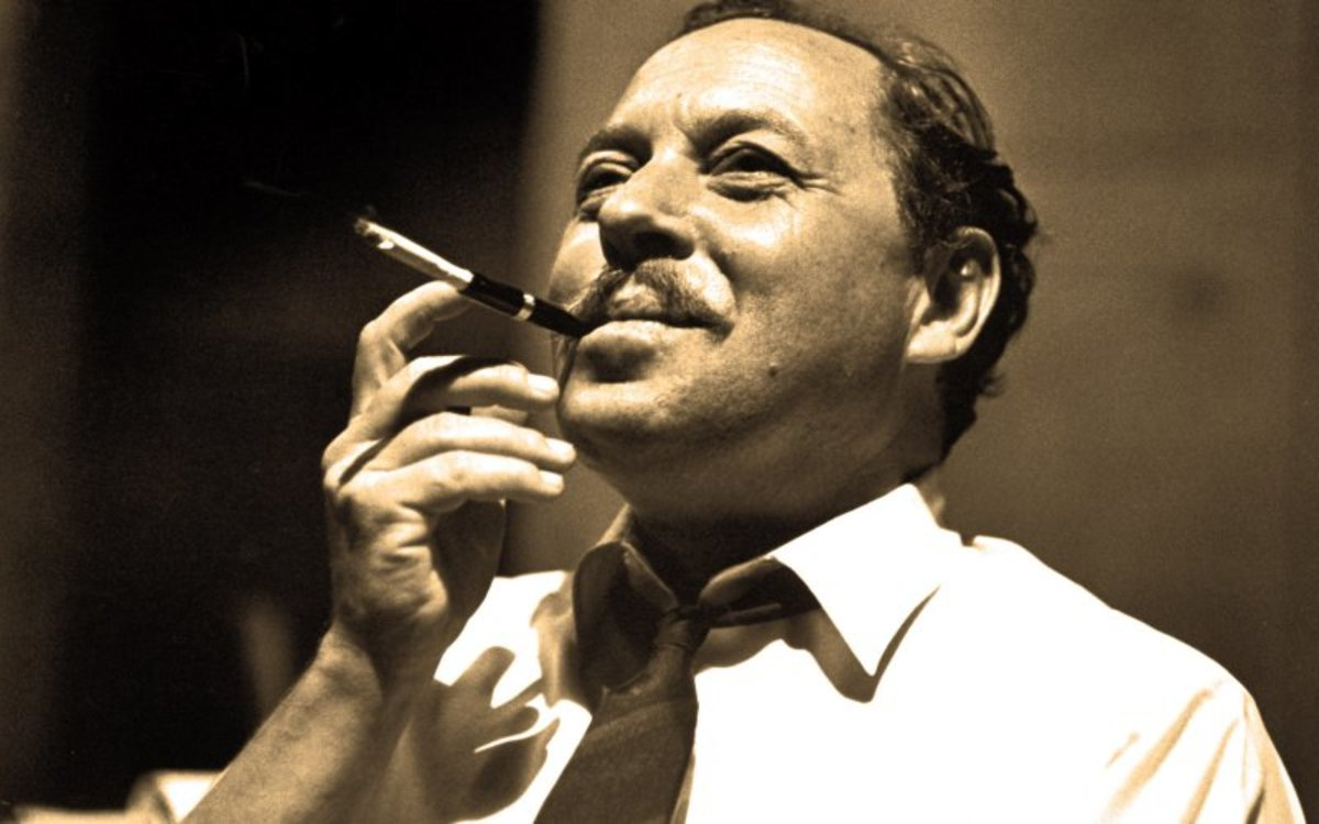 "Tennessee Williams' ""How calmly does the orange branch"""
