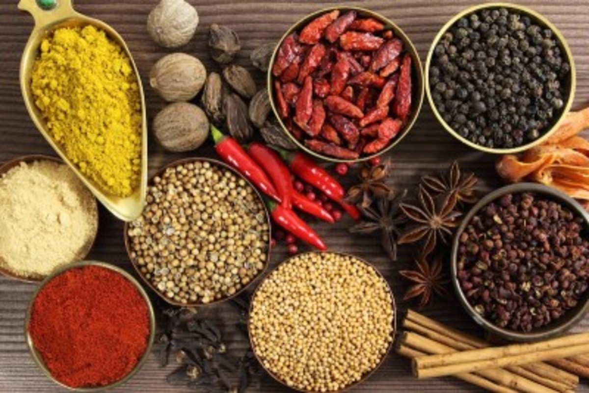 Ayurvedic spices for a healthy digestive system.