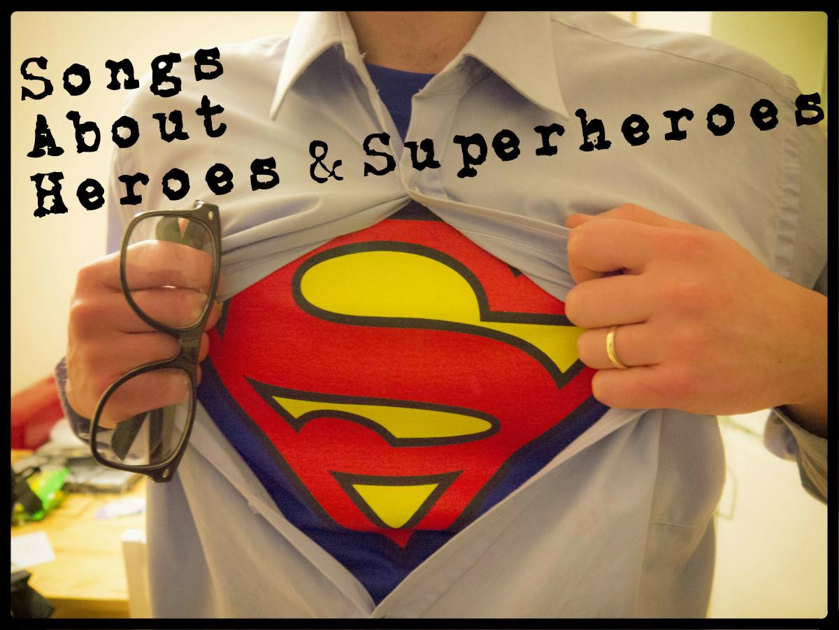 superhero stories examples