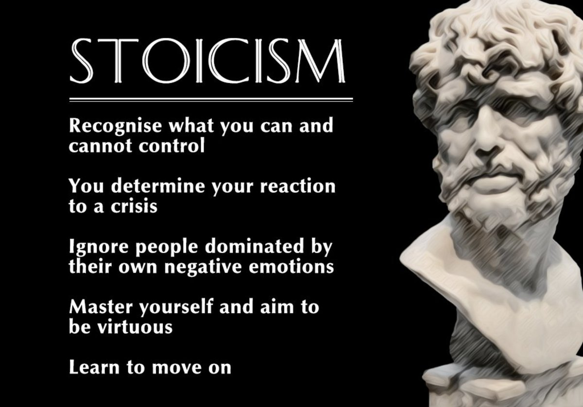 The basic beliefs of Stoicism.