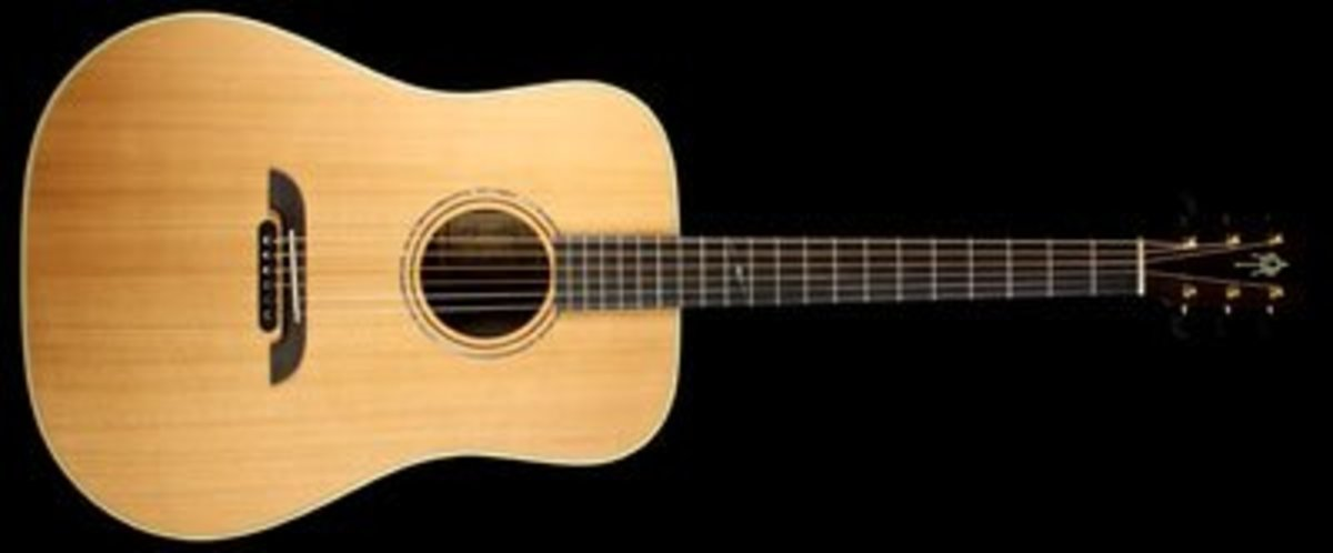Alvarez Yairi Masterworks Series DYM75 Dreadnought Acoustic Guitar Natural