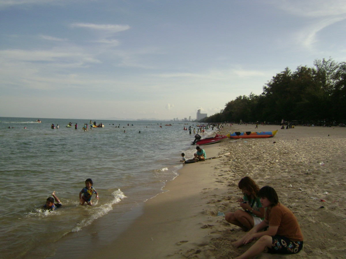 A beach holiday at Hua Hin.