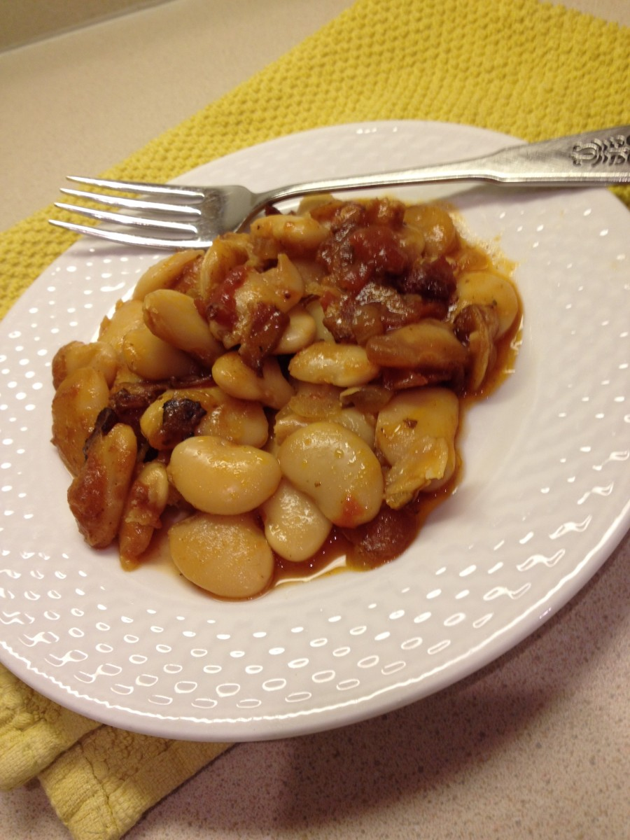 This recipe blends the nutty taste of beans and sweetness of maple quite nicely.