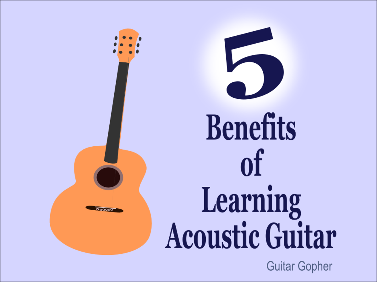 There are good reasons to choose an acoustic guitar as your first instrument!
