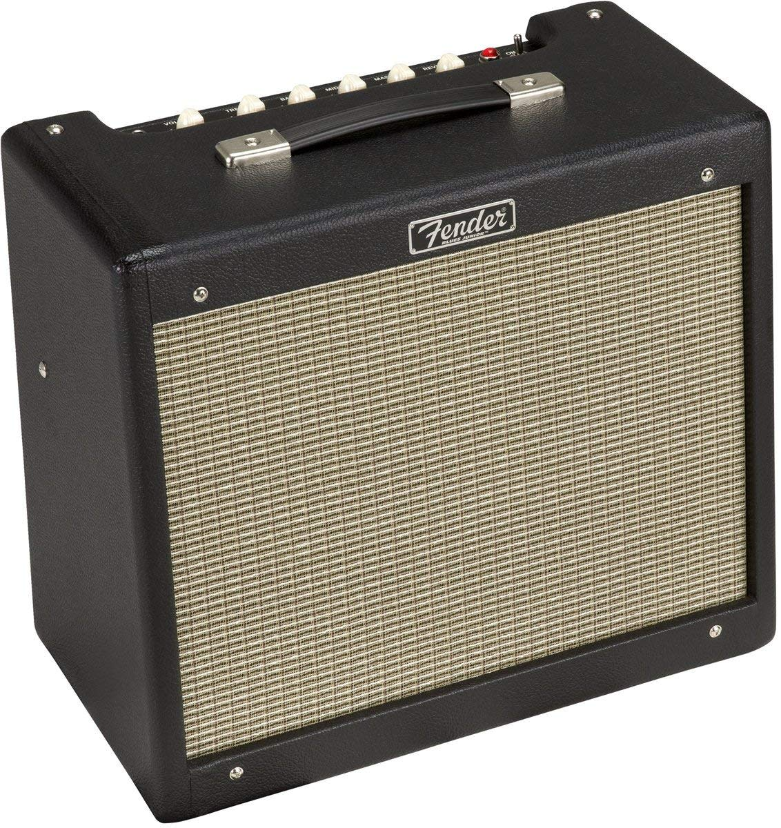 The Fender Blues Junior is a low-wattage tube amp that's perfect for jamming at home.