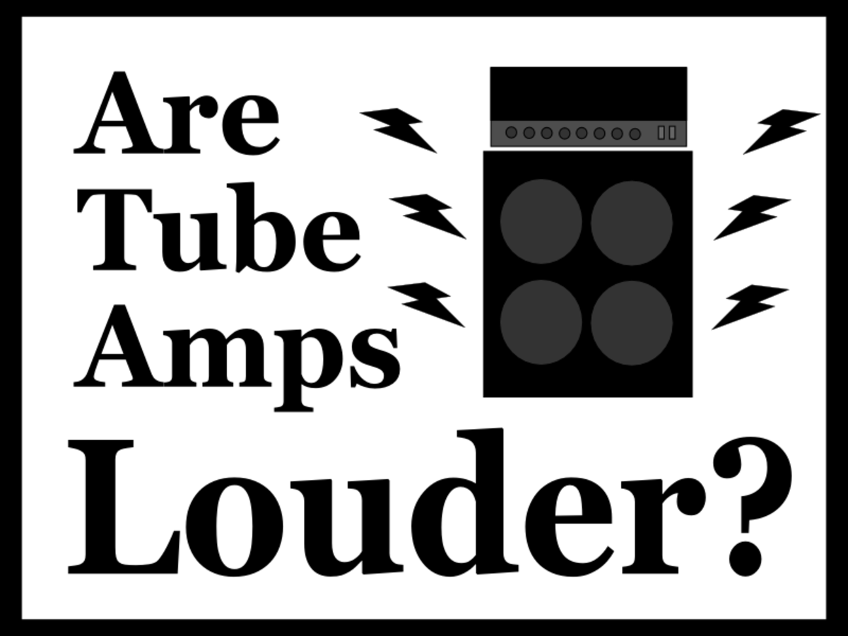 Why are tube amps louder than solid-state amps?