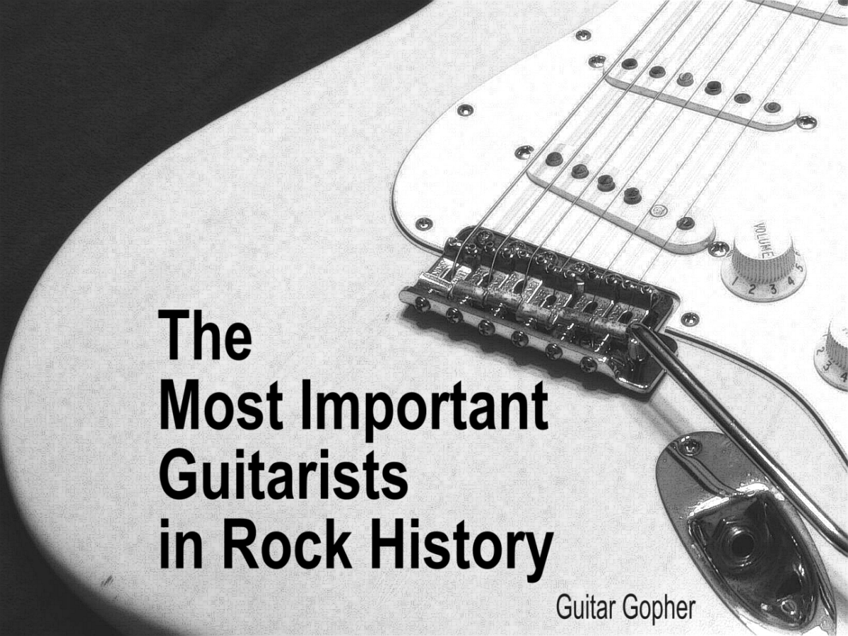 The Most Important Guitar Players In Rock History Spinditty