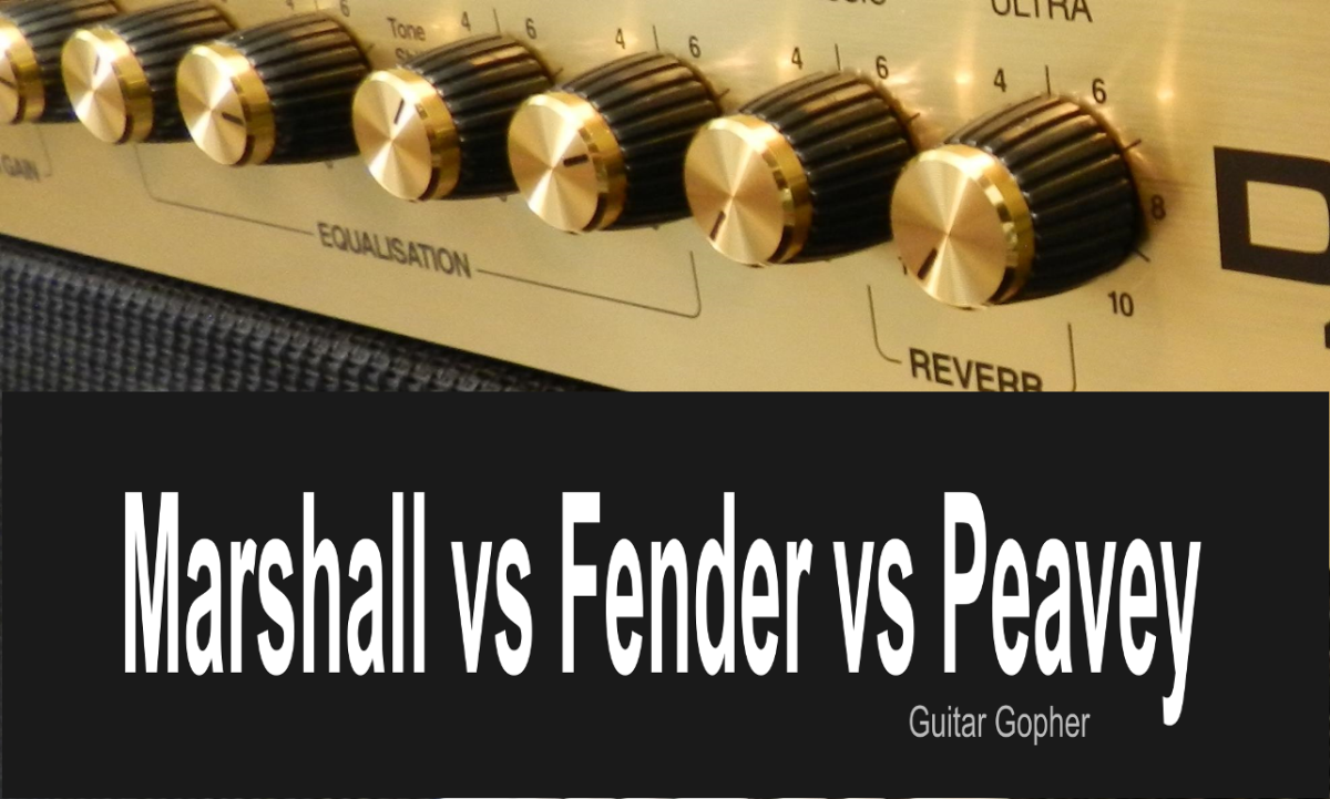 Marshall, Fender and Peavey are three top guitar amp brands, but which is the best?