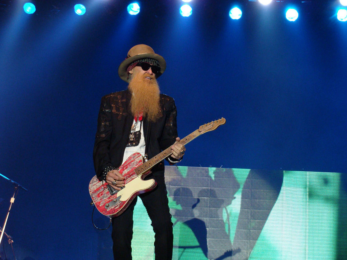 Billy Gibbons of ZZ Top is accomplished as both a lead and rhythm player.
