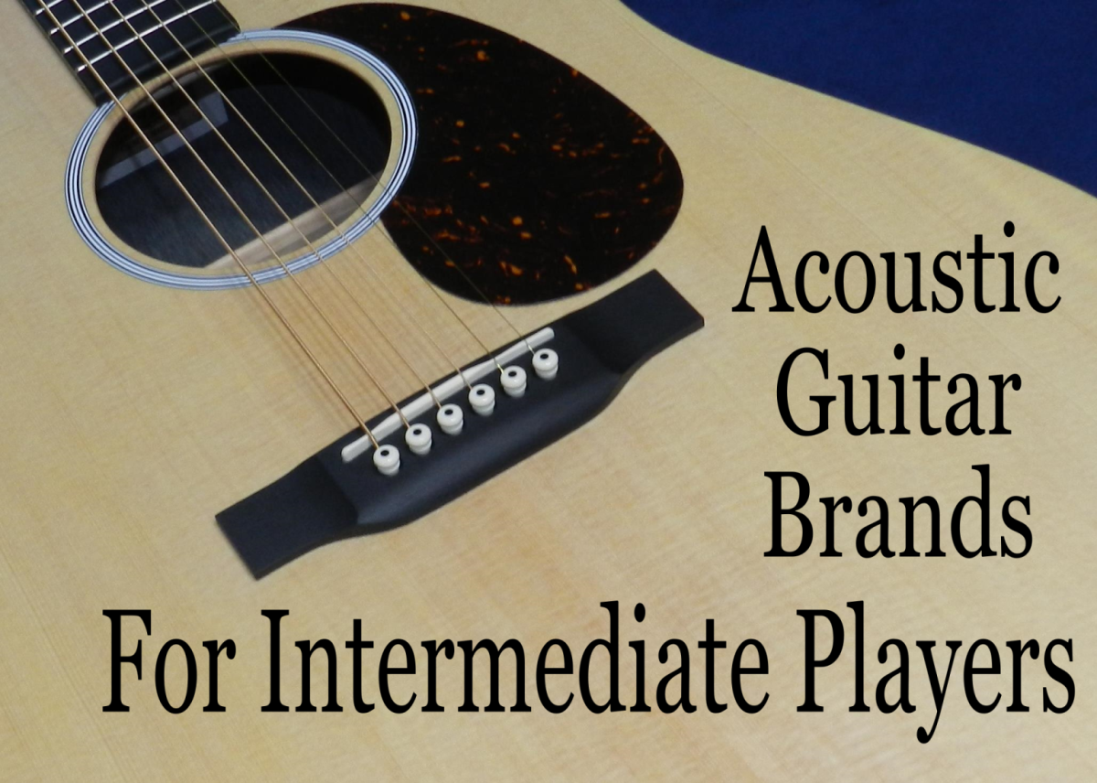 Top 5 Acoustic Guitar Brands for Intermediate Players