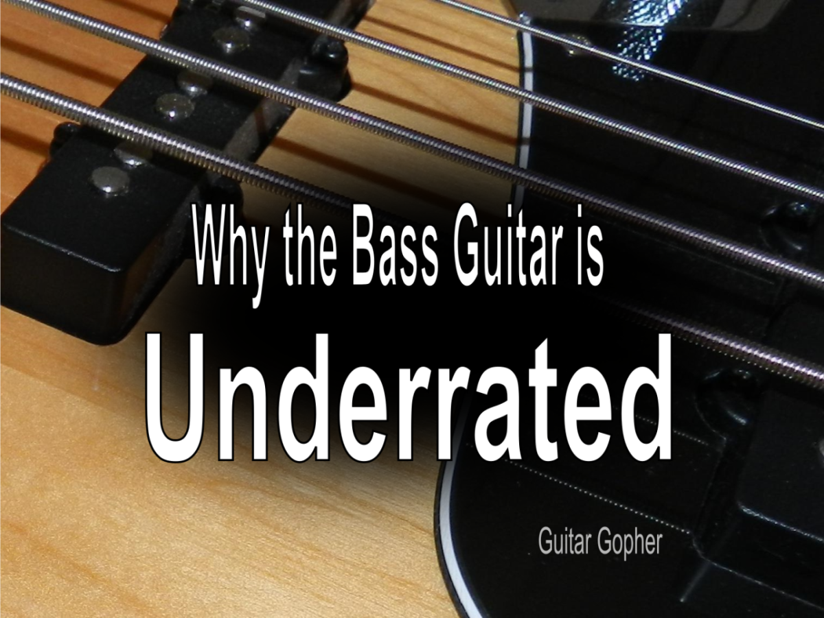 The bass guitar is underrated!