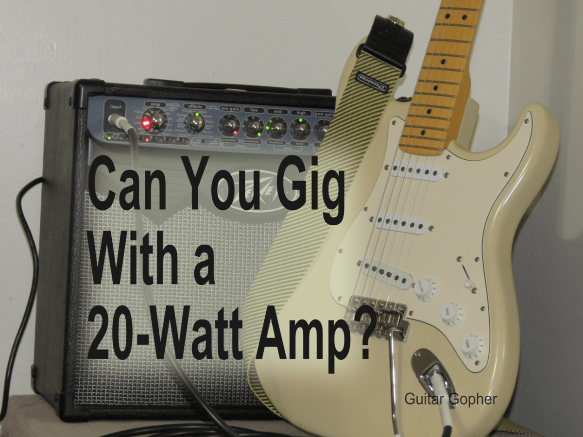 Is a 20-Watt Guitar Amp Good Enough to Gig With?