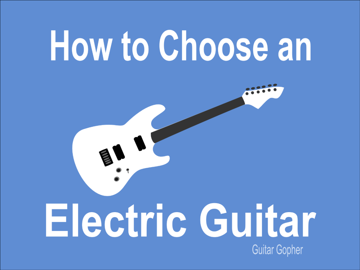 Advice on choosing an electric guitar for a beginner.