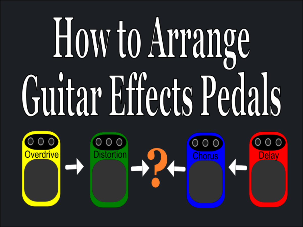 How to Arrange Guitar Effects Pedals
