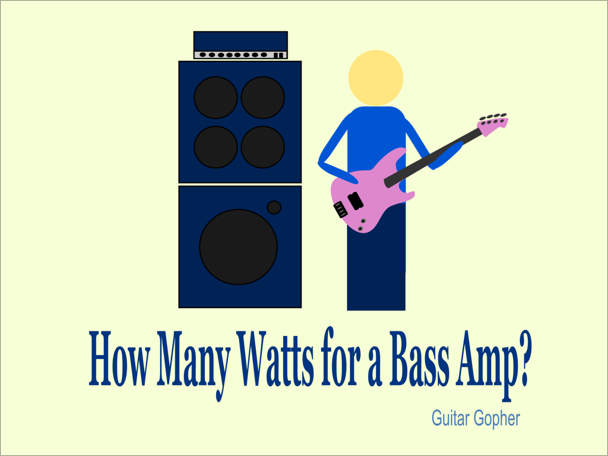 How many watts for a bass amp?