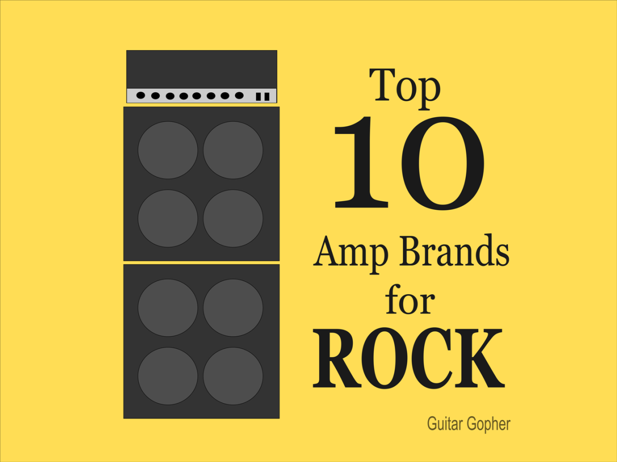 Top 10 Guitar Amp Brands for Rock